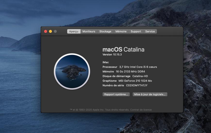 Fix Old NVIDIA macOS Catalina Captur16