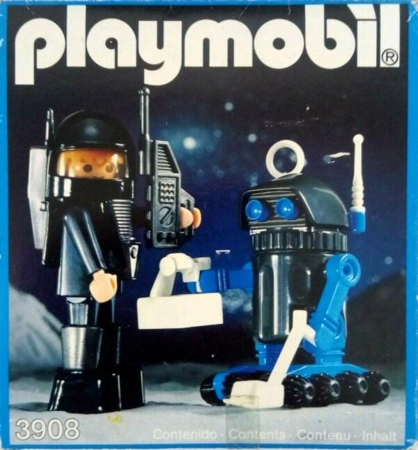 Playmobil Thème espace : Les robots Playmo12