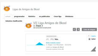 PROBLEMA CON LA ETAPA 3 DE LA VII Liga Amigos de Bkool Mallor11