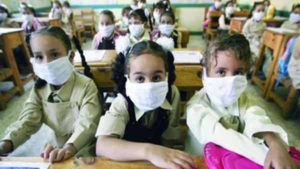 و أوصت الصحة بإبعادهم عن باقى التلاميذ بشكل لا بسيئ لهم -  الممنوعون من ارتداء الكمامة في المدارس 11513