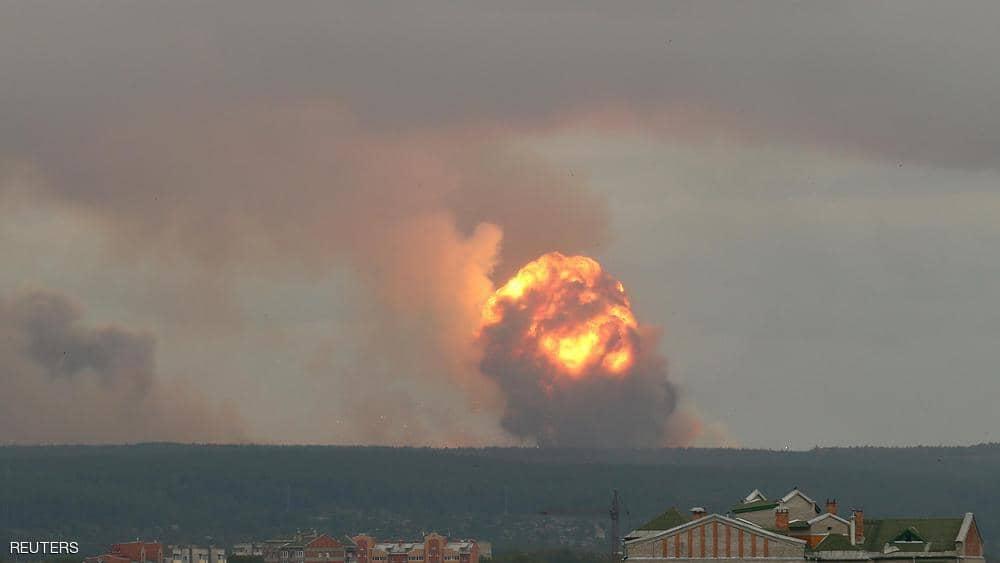 عاجل - العالم مقبل على كارثة جديدة -  انفجار نووى هائل بروسيا يهدد بأخطار أكبر من تشير نوبل 18621-10