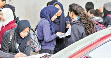 اجماع - طلاب الثانوية العامة يؤكدون سهولة امتحان مادة اللغة العربية 20190529