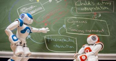 تصميم ربوتات تساعد - المدرسين داخل قاعات الدراسة 20191032