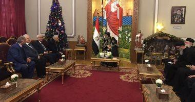 معالى وزير التعليم يهنئ أقباط مصر بعيد الميلاد المجيد 20200115