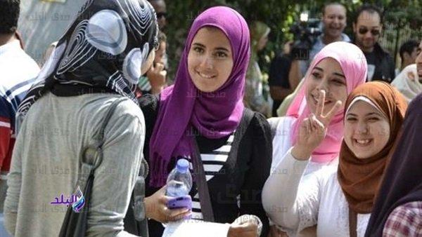 أول يوم فى امتحانات الثانوية العامة 2019 . الطلاب يتوافدون على اللجان استعدادا لامتحان العربي 37810