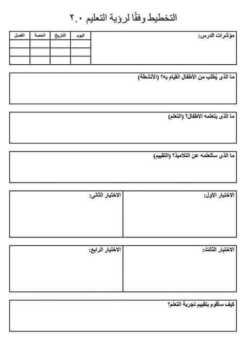 وزارة التعليم تعلن طريقة التحضير للصف الأول الإبتدائى للنظام التعليمى الجديد 2.0 وتلغى ماقبلها و التعميم لكل المدارس 44029810