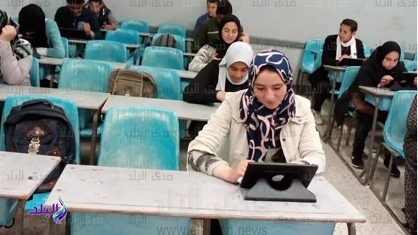 ننشر نصائح الأستاذة /  أمل البدري إحدى المعلمات المشاركات في منظومة التصحيح الإلكتروني لامتحانات أولى ثانوي الالكترونية 50910