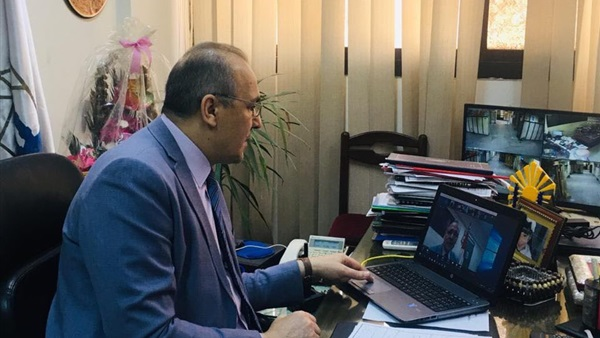 """تدريبات العاملين في مديرية التعليم بالقاهرة """" أون لاين 5310"""