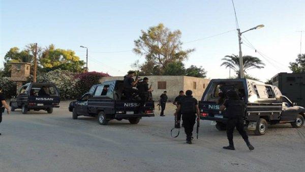 صدى البلد - هجوم عناصر إرهابية على كمين أمني بشمال غرب العريش وتبادل النيران ووقوع ضحايا  53410