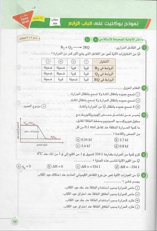 تجميع لأحدث الإمتحانات الألكترونية والورقية بوكليت الصف الأول الثانوى كل المواد للتدريب عليها ترم ثانى2019 كل المواد 54212910