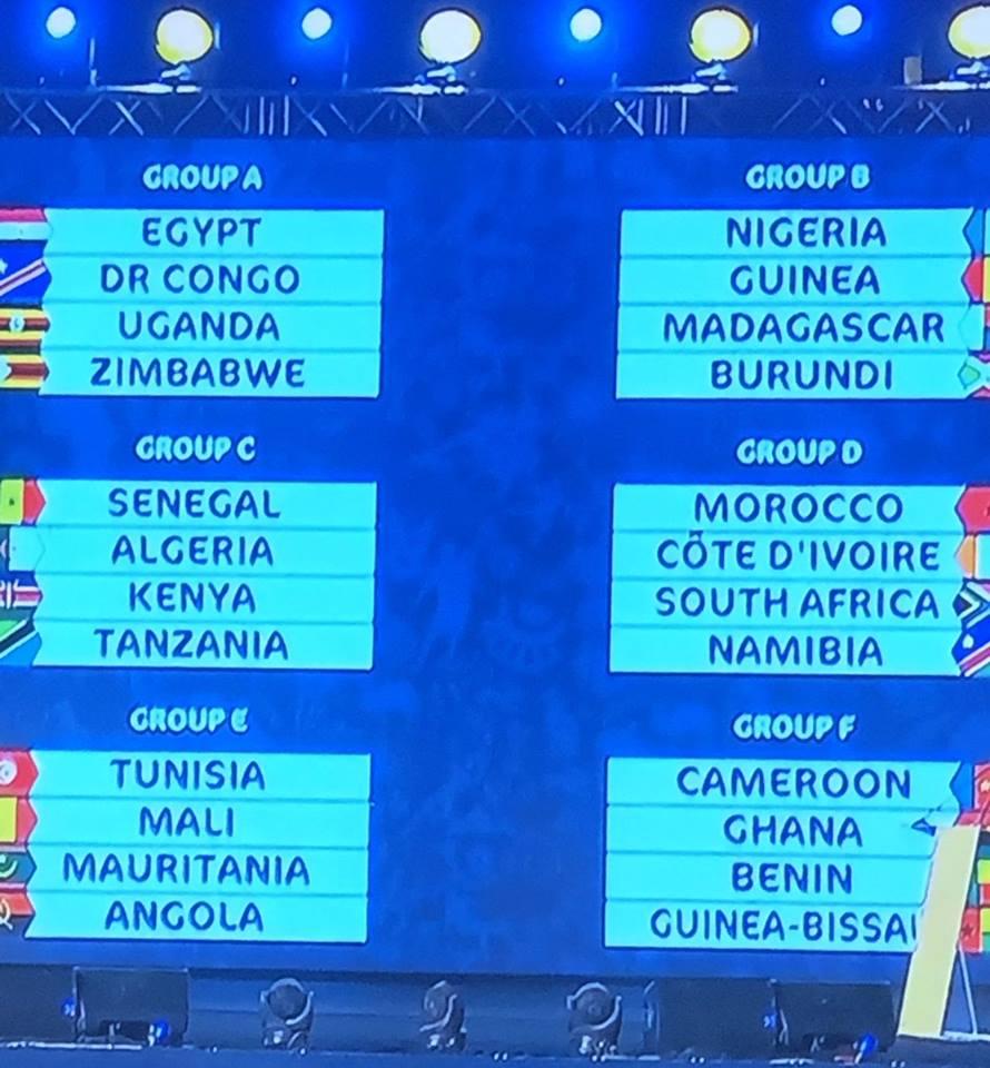 نتيجة قرعة كأس الأمم الإفريقية مصر 2019 تعرف مجموعة مصر 57079810
