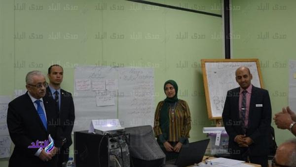فى اجتماعه بالمعلمين – شوقى مناهجنا عالمية بأيدى مصرية 6510