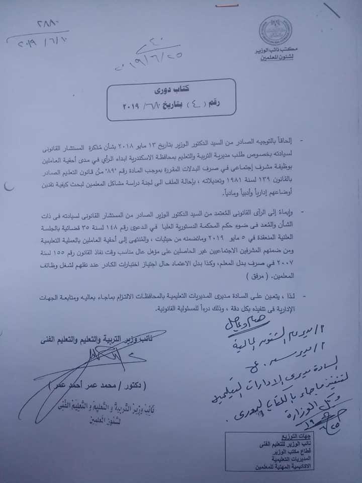 ألف مبروك لجميع الزملاء المشرفين الإجتماعي نشر إقرار الكادر 66230110