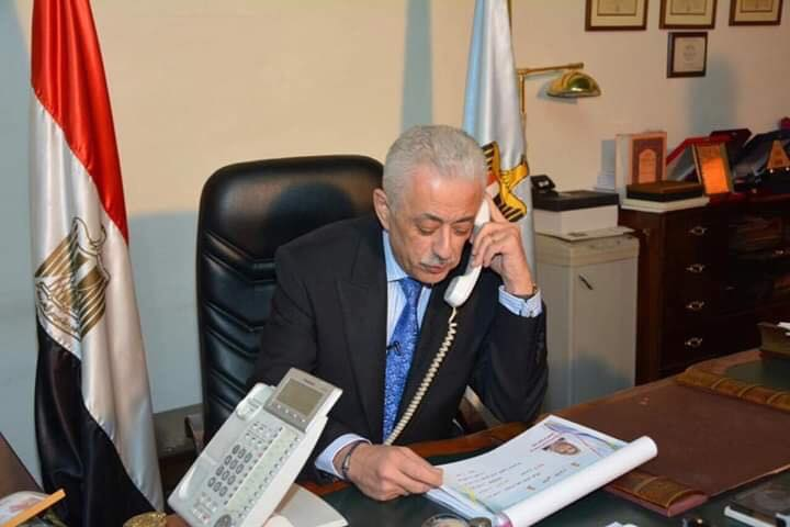 أوائل الثانوية العامة من  مدارس حكومية  و دكتور شوقى يطلب تجهيز ارقامهم ليتصل بهم خلال  دقائق 66698910
