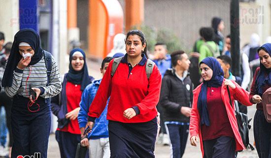 22 مليون طالب ينتظمون فى الدراسة بالفصل الدراسى الثانى 66951-10