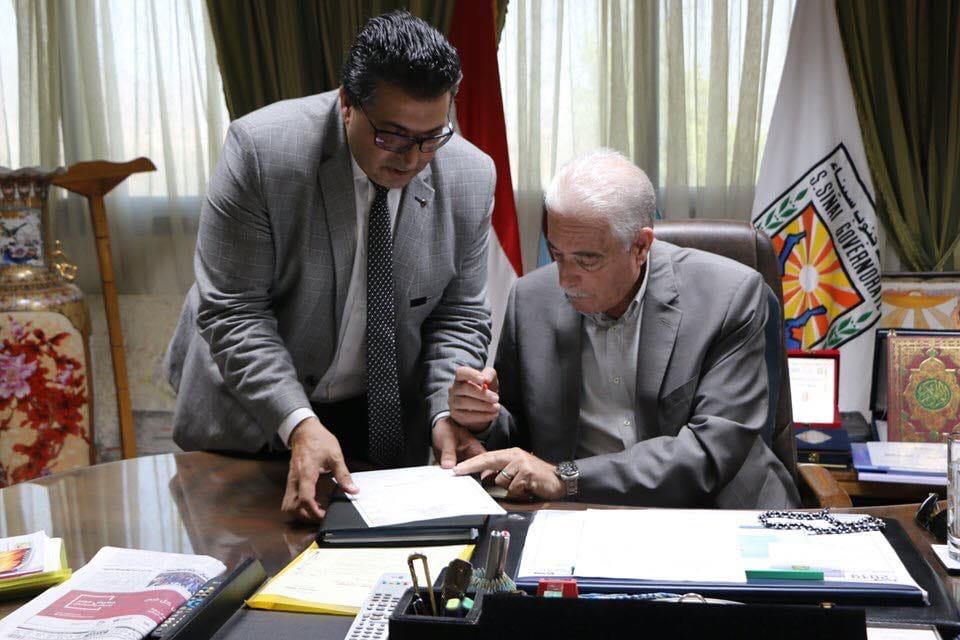محافظ جنوب سيناء يقررالنزول بمجموع القبول للثانوي العام 70602810
