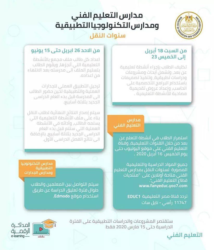 التعليم: إعلان مقررات الترم الثانى للبحث والشهادات العامة الأسبوع الجارى 90988310