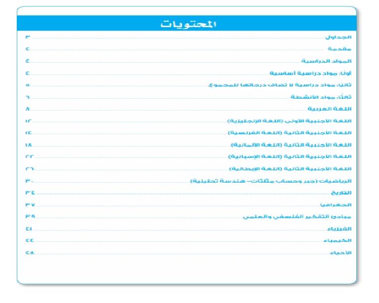 """نماذج الوزارة الإرشادية للصف الأول الثانوى """" مواد للحكومى و للغات"""" Aay_aa12"""