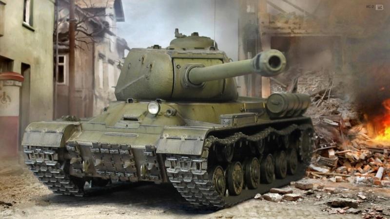 ИС-2 Звезда 1/35(передняя бронеплита из катаной стали) 0_312