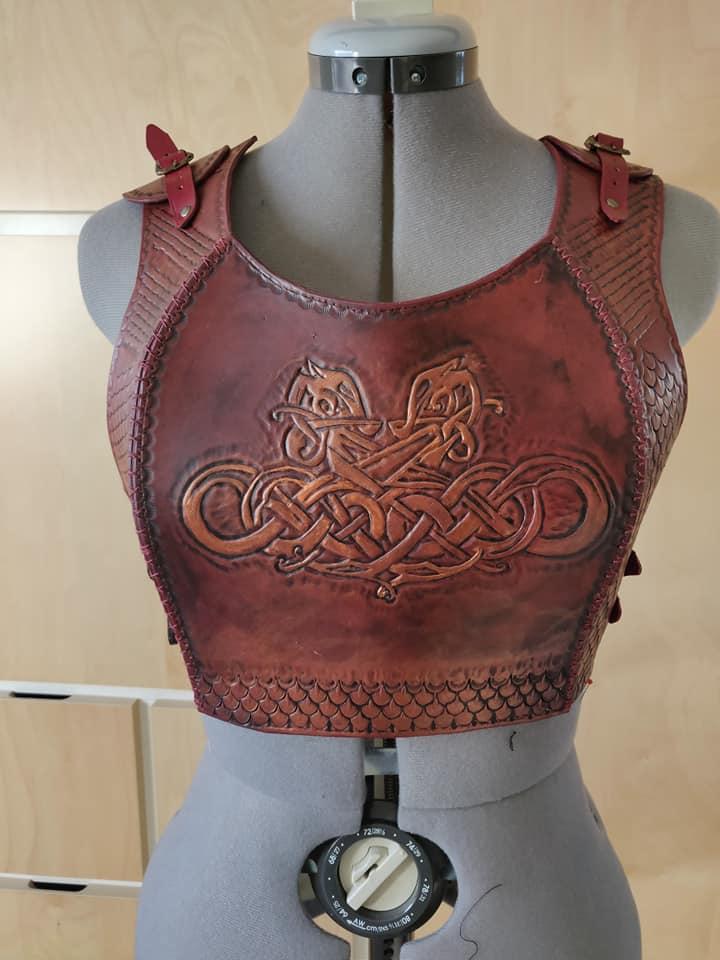 Torse en cuir viking pour GN 45891310