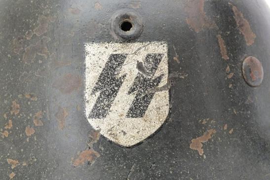 SS M42 HELMET 'EF' 4832a10