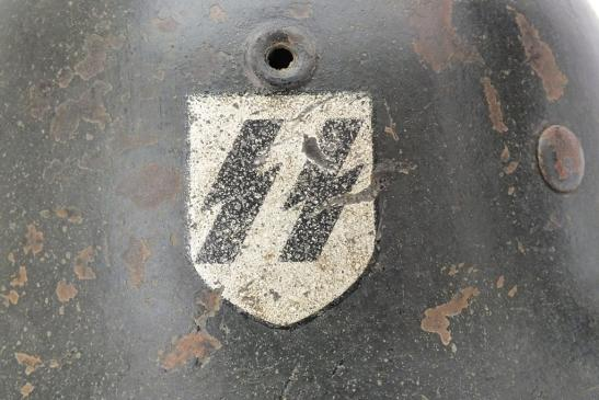 SS M42 HELMET 'EF' 4832a11