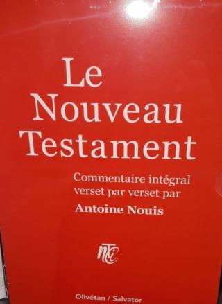 Nouveau Testament. 20181113
