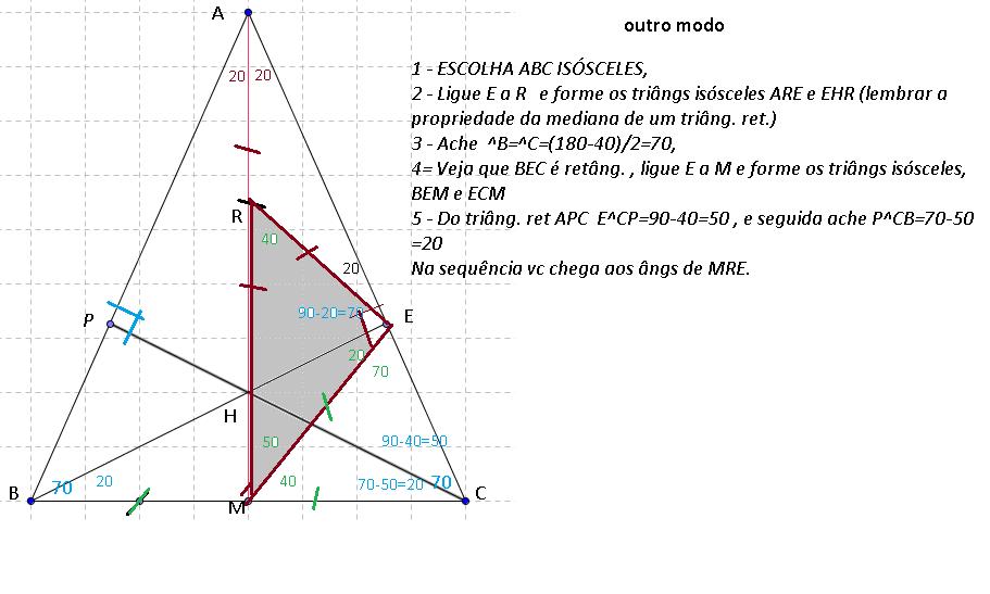 Triângulo - Ângulos e Ortocentro Rai01316