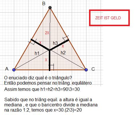 Geometria, Pontos Notáveis no Triângulo Sem_tz12