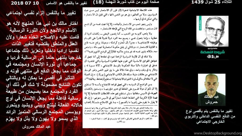 قراءة في كتاب بين الرشاد والتيه لمالك بن نبي وتعليق عبد المالك حمروش (05)  18_ooo10