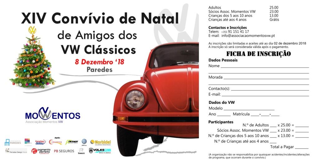 XIV Convivio de Natal de Amigos dos VW Clássicos - 8 Dezembro'18 - Paredes Ficha-10