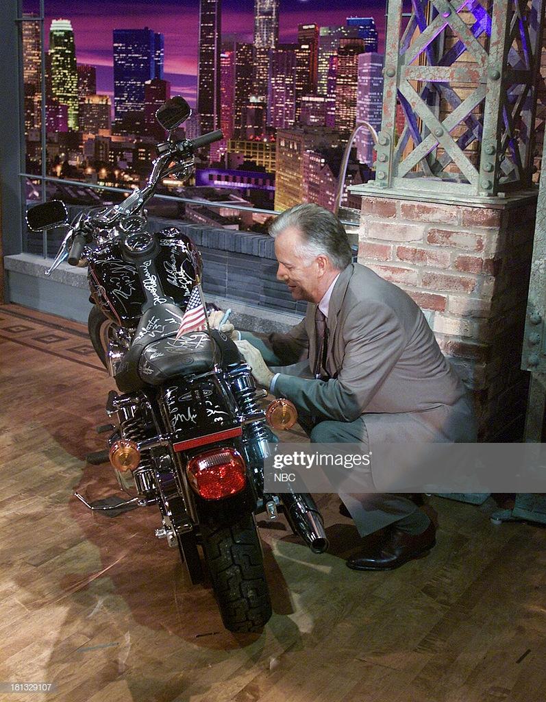 Ils ont posé avec une Harley, uniquement les People F2408610
