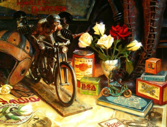 Jouets, jeux anciens et miniatures sur le monde Biker - Page 24 Image858