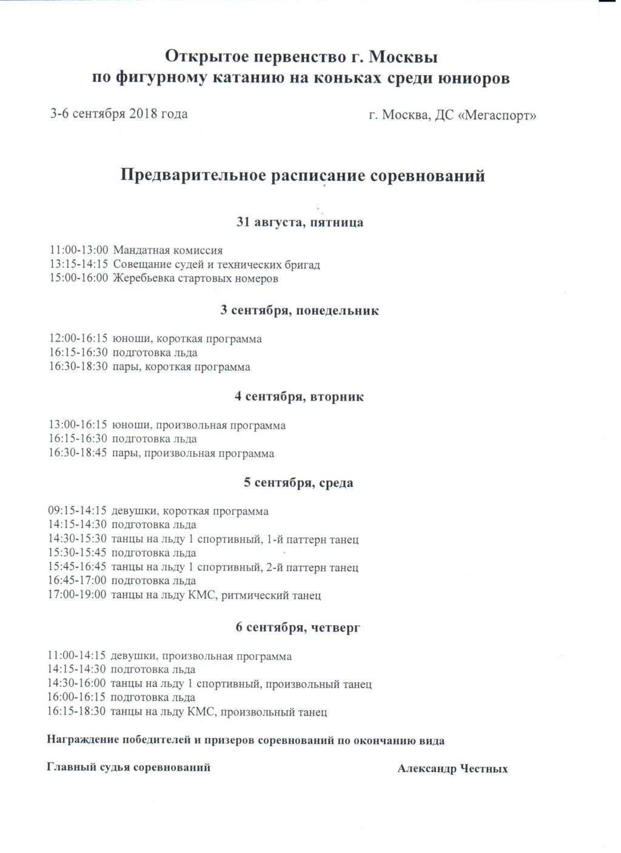 Российские соревнования сезона 2018-2019 (общая) 10