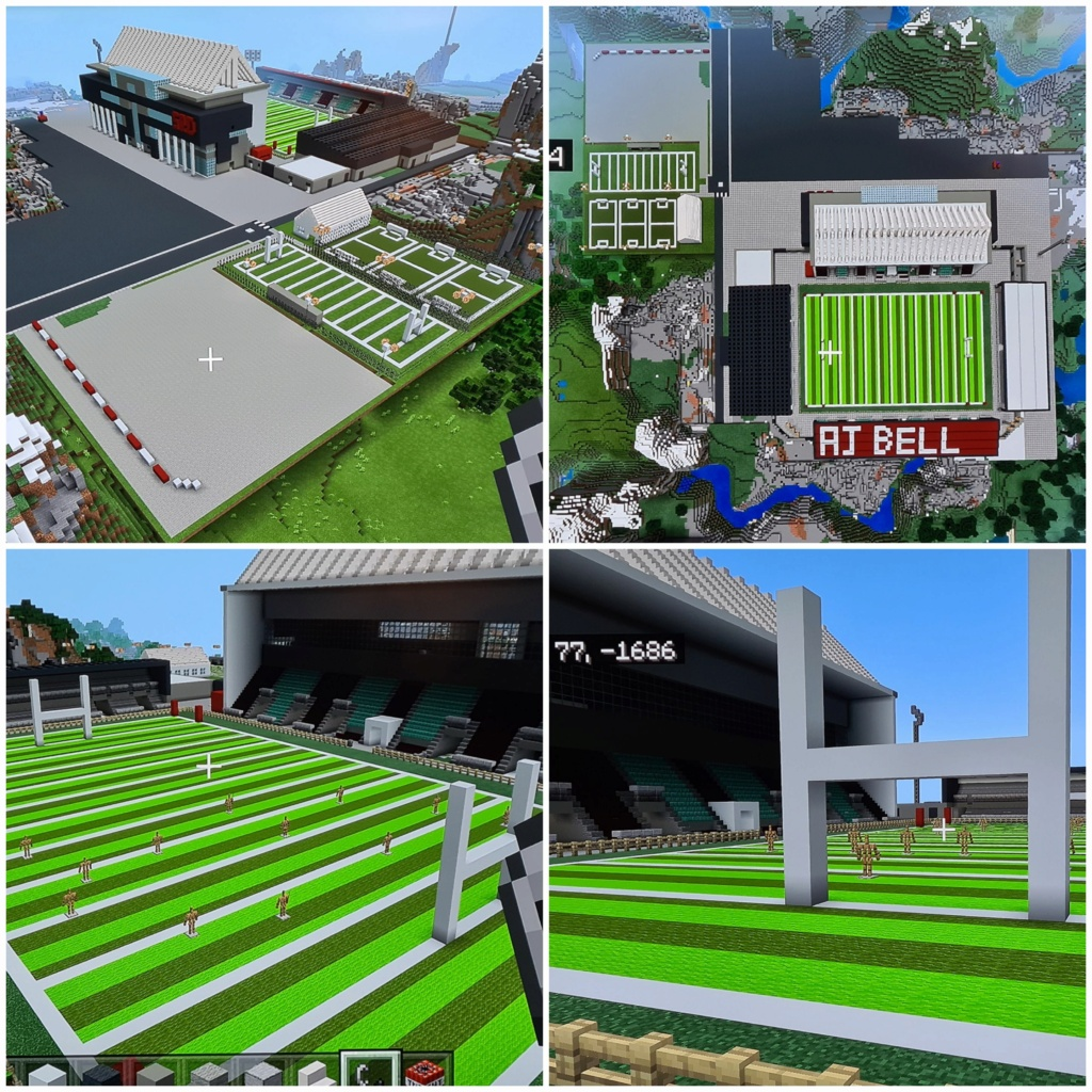 Recreating Burnden Park in Minecraft in time for the 75th anniversary of the disaster 20200810