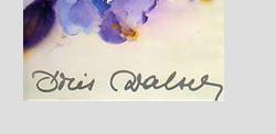 Aquarelle signée Doris Walser Capt1064