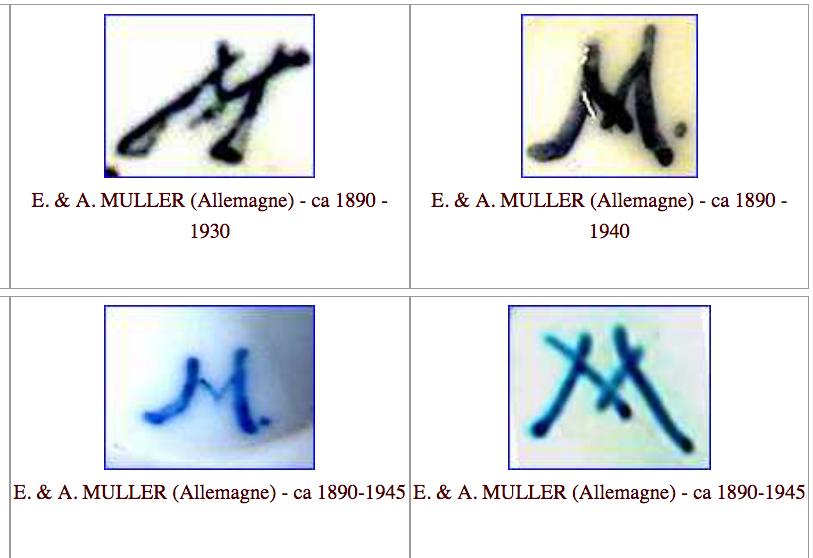 Paire de statuettes figurant les Muses Thalie Masque ? E/A Muller Allemagne? Vers 1900 ?  Capt1075