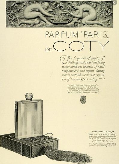 Coffret parfum PARIS de COTY renseignements :) Capt1908