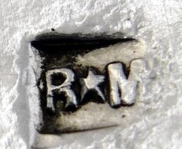 dessous de plat Verre Les Andelys et métal argenté Roux-Marquiand Captu342