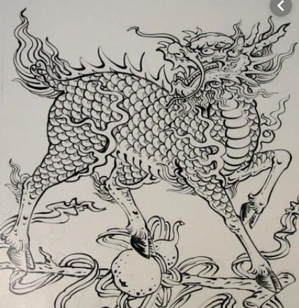 vase d'autel aux animaux mythiques Captu584