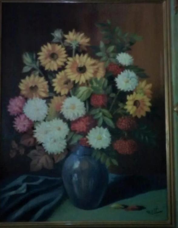 Peintre argentin Rossi Captu603