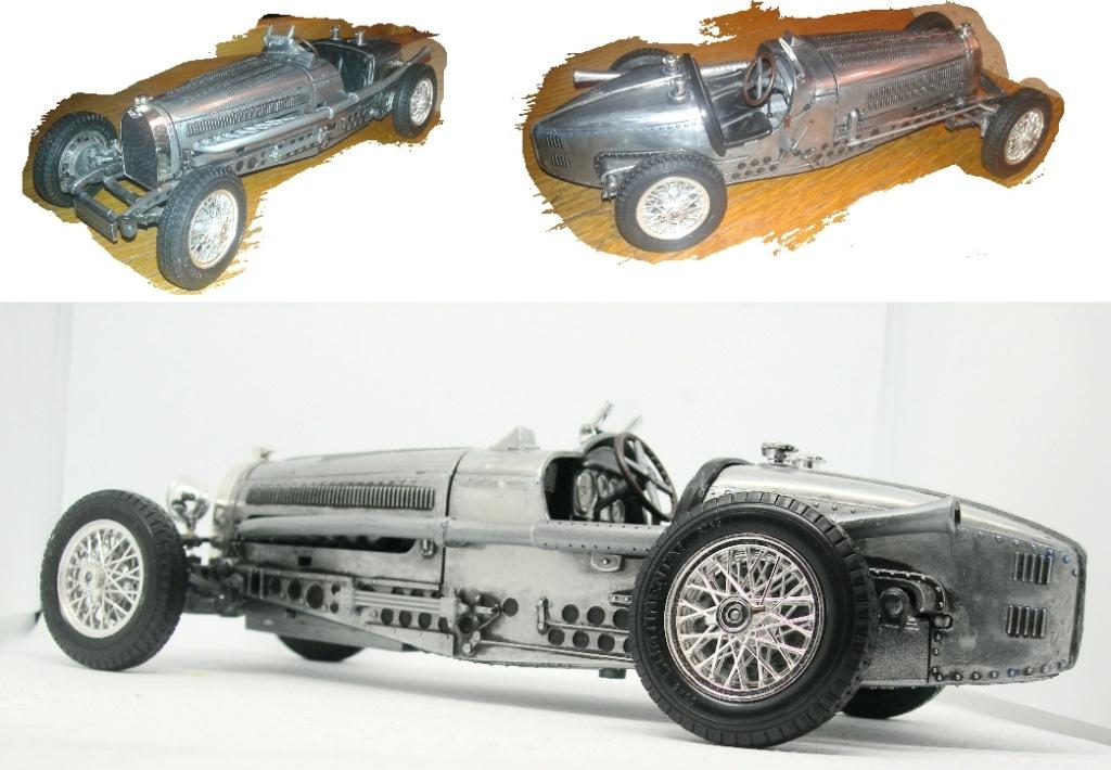 Bugatti Typ59, BJ 1934, Bburago Forum111