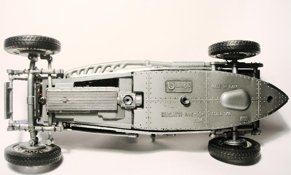 Bugatti Typ59, BJ 1934, Bburago Motor210