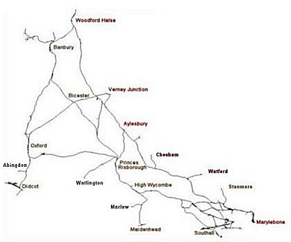 The Chilterns Map10