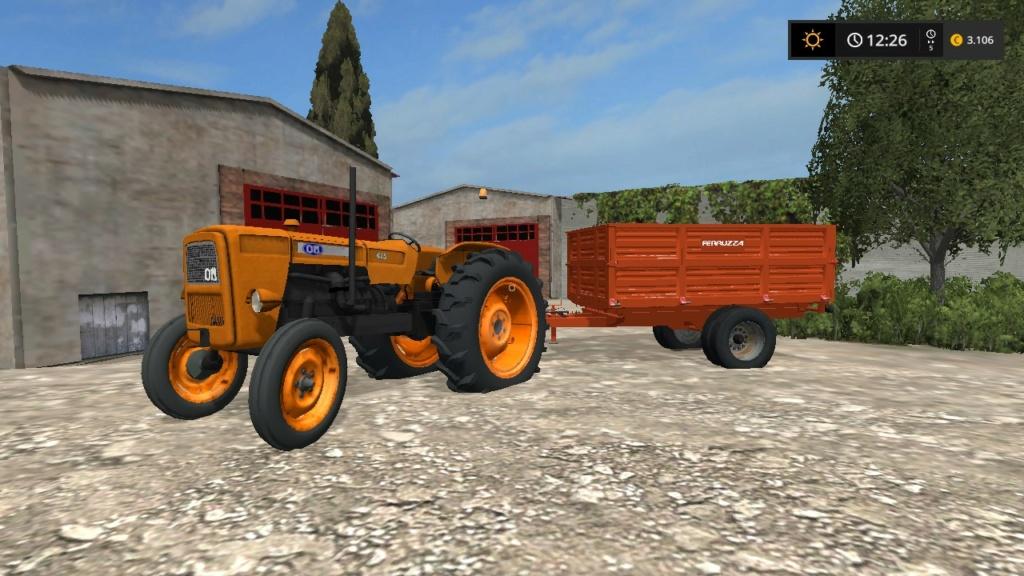 trattore gommato fiat om 615 d'epoca 17596110