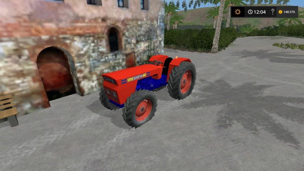 trattore gommato same saturno 80 d'epoca 17630210