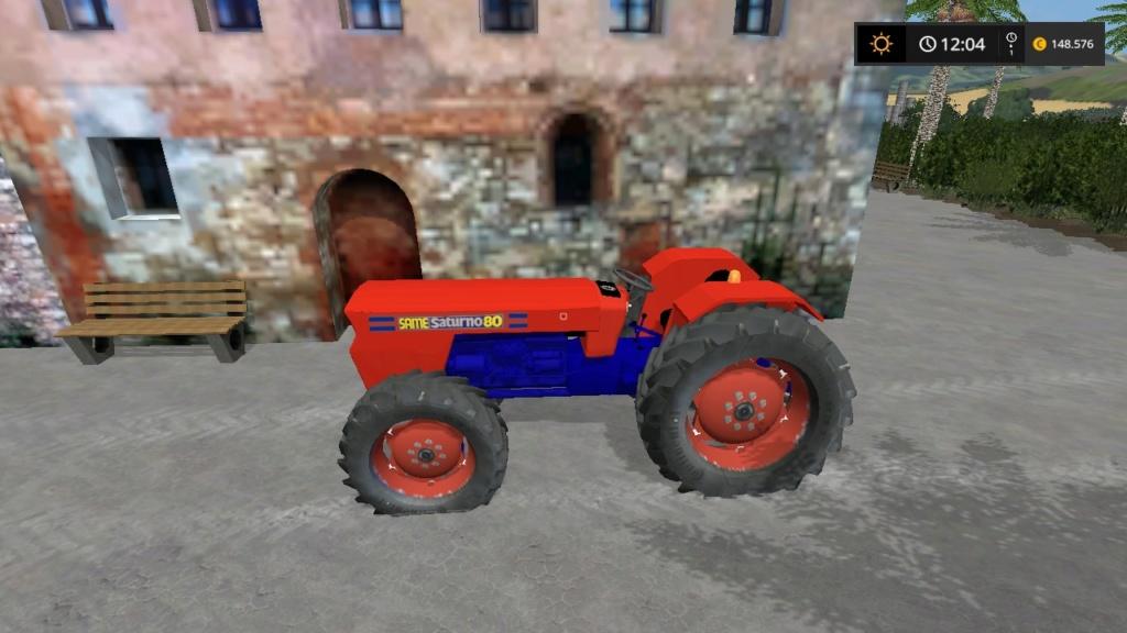 trattore gommato same saturno 80 d'epoca 17634210