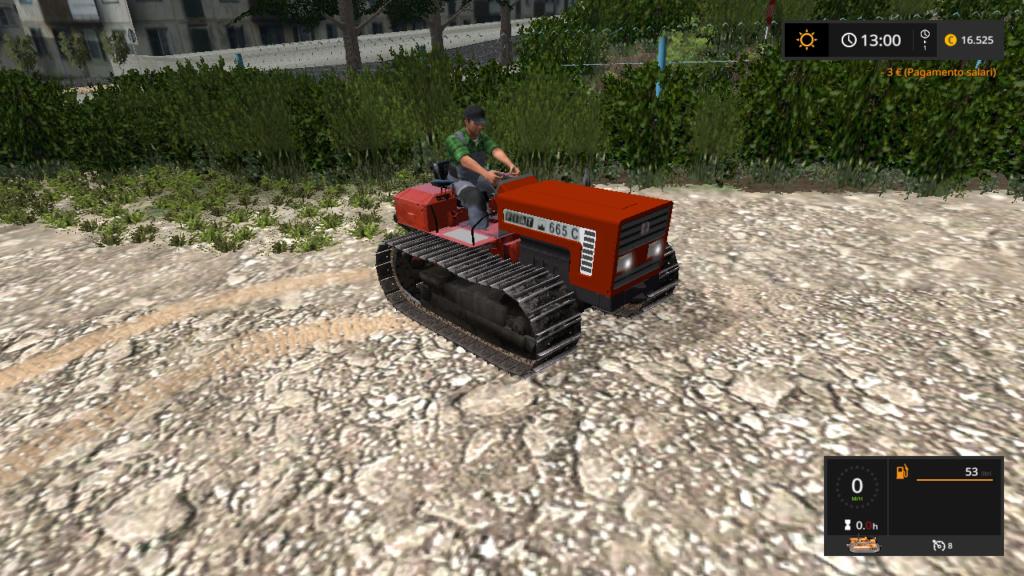 trattore cingolato fiatagri 665 C  18209411