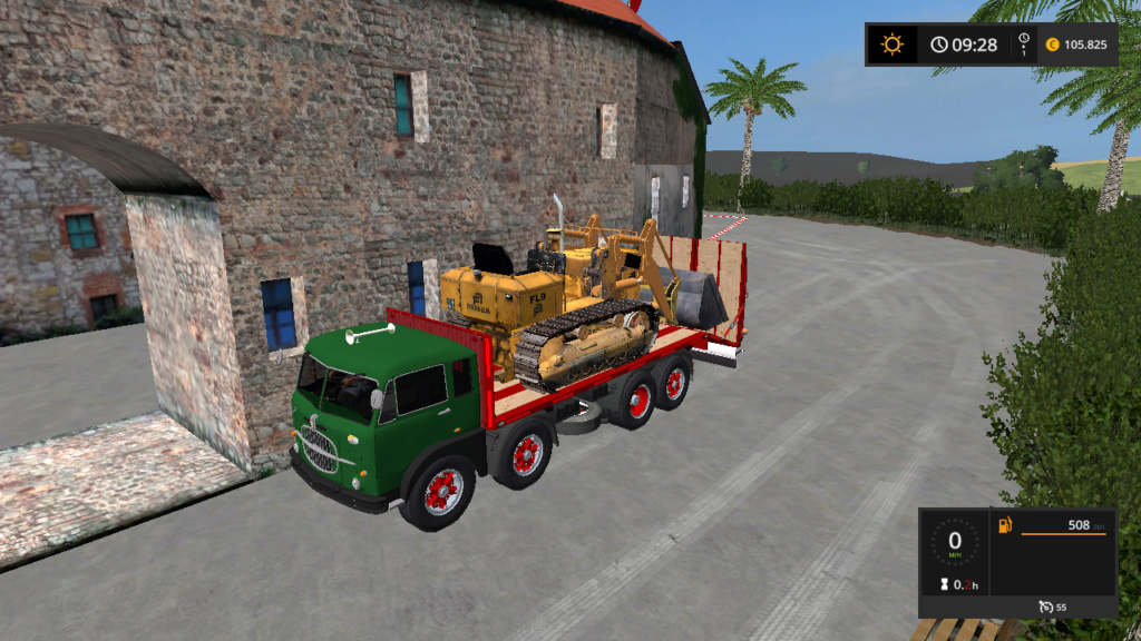 fiat iveco 690 n3 4assi trasporto mezzi d'epoca Fsscre38