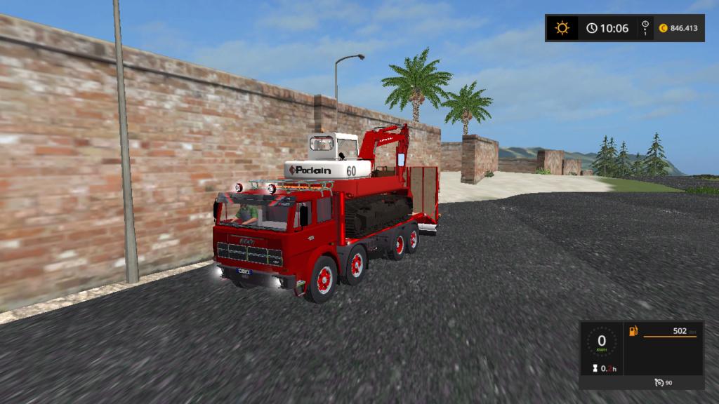 fiat iveco 180 nc 4 assi trasporto mezzi d'epoca  Fsscre48